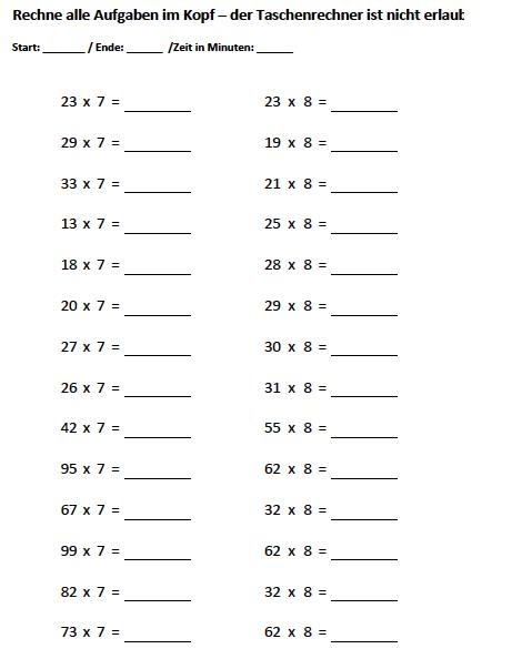 matheaufgaben 3 klasse