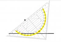 Wir zeichnen Winkel mit dem Geodreieck