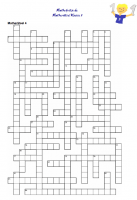 Kreuzworträtsel Klasse 5 Mathematik