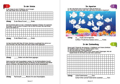Textaufgaben Klasse 2: Text- und Sachaufgaben Klasse 2 Aufgaben