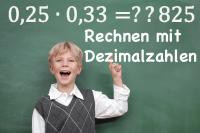 Dezimalzahlen Dezimalbrüche Addieren Subtrahieren Multiplizieren Dividieren
