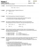 funktionsgleichung-aufstellen