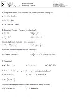 arbeitsblatt-binomische-formeln