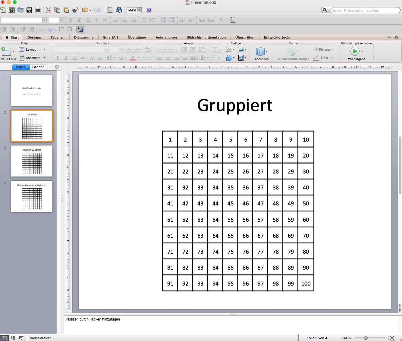 Hundertertafel zum ausdrucken | Hundertertafel Übungen Mathefritz