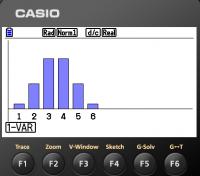Binomialverteilung mit dem grafikfähigen Taschenrechner