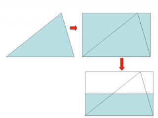 dreieck-in-quadrat