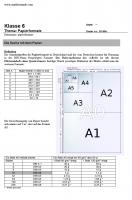 Papierformate DIN A4 verstehen