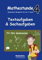 Textaufgaben und Sachaufgaben Klasse 4