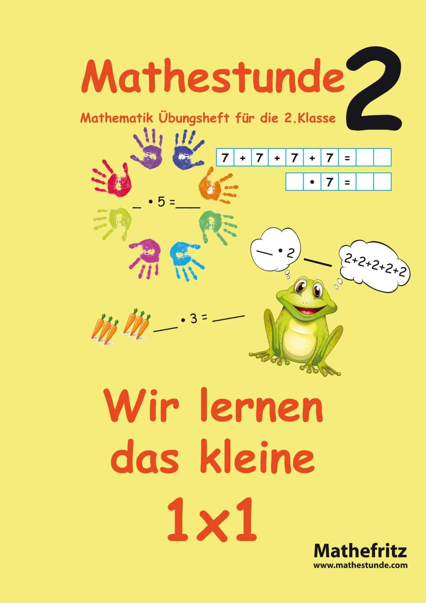1x1 Aufgaben Einmaleins Übungsblätter von Mathefritz