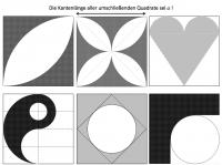 Zusammengesetzte Kreisflächen