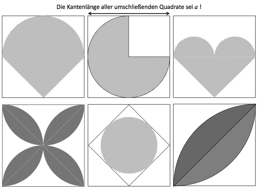 Kreis und Kreisflächen berechnen: Arbeitsblatt Kreisausschnitte