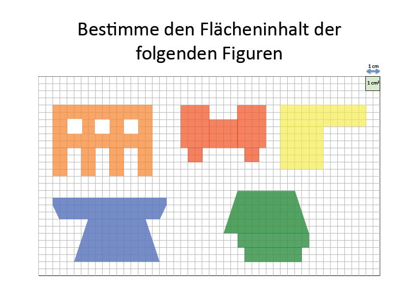 Arbeitsblatt Flächeninhalt | Flächeninhalt Rechteck Mathefritz