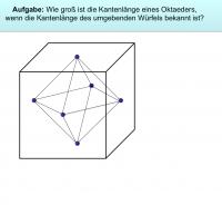 Musteraufgabe zum Oktaeder