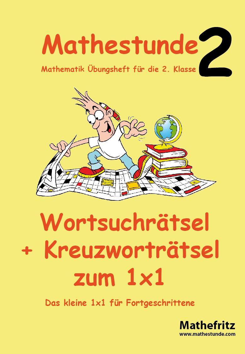 1x1 Kreuzworträtsel + Wortsuchrätsel | Einmaleins üben mit Mathefritz