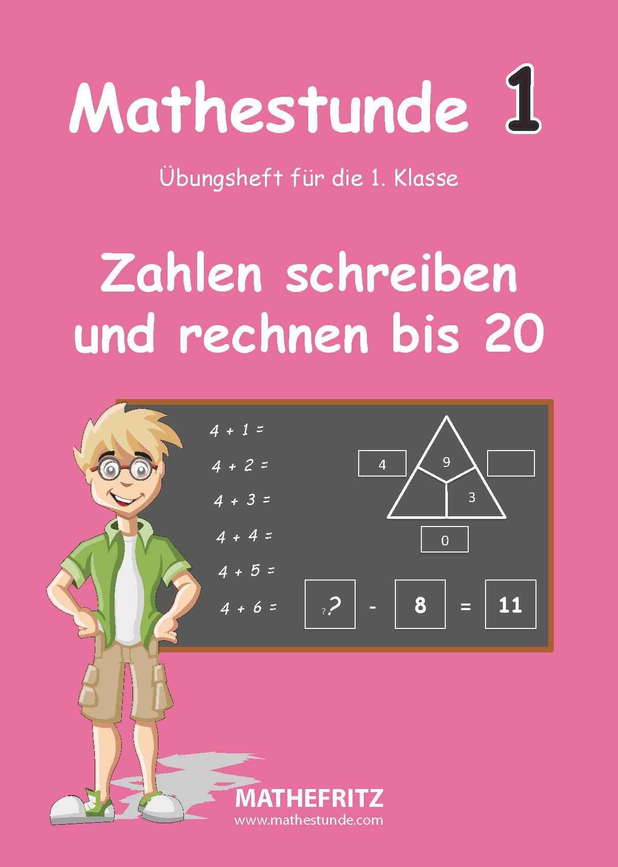 Zahlen schreiben lernen | Zahlen bis 20 schreiben und damit rechnen