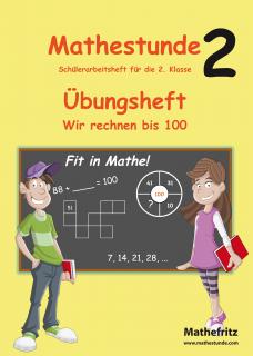 Matheaufgaben Klasse 2 | Arbeitsblätter 2. Klasse von Mathefritz