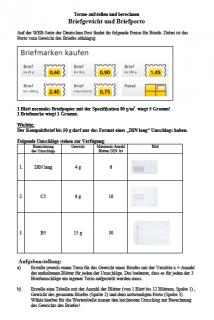 Terme aufstellen in Klasse 7 und 8