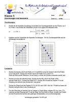 Zuordnungen und Geometrie
