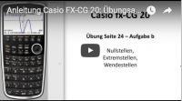 Casio FX-CG 20 Kurvendiskussion