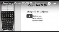 Casio FX-CG 20: Kurvendiskussion