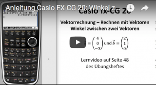 casio fx cg20 bedienungsanleitung winkel zwischen vektoren. Black Bedroom Furniture Sets. Home Design Ideas