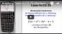 Casio FX-CG 20 Wendestellen