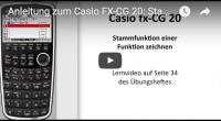 Casio FX-CG 20 Stammfunktion zeichnen