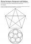 Fünfeck Pentagramm konstruieren