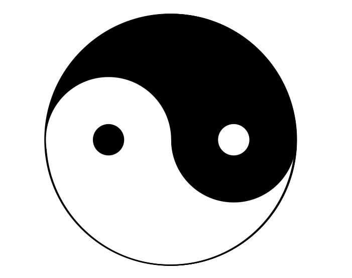 Was bedeutet das jing und jang zeichen