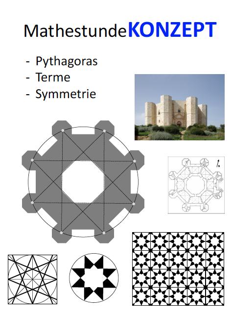 achteck zeichnen berechnen das gleichm ige achteck. Black Bedroom Furniture Sets. Home Design Ideas