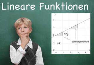Lernpaket Lineare Funktionen