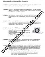 Arbeitsblatt Zinsrechnung: Matheaufgaben Klasse 7 Zinsen