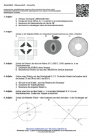 Arbeitsblatt Geometrie Klasse 7
