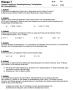 Klassenarbeit lineare Funktionen Klasse 7