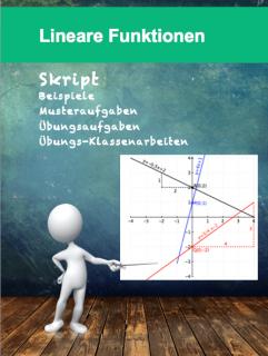 Das Skript Lineare Funktionen