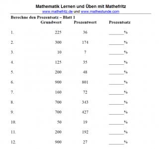 prozentsatz-berechnen